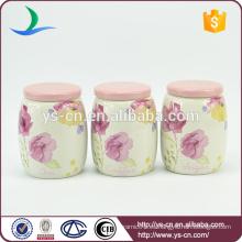 C12002C pequeño recipiente cerámico de café de color rosa