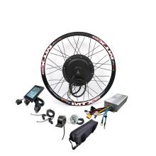 Free Shipping China Factory Supply 1500w electric hub motor 1500w e bike conversion kit