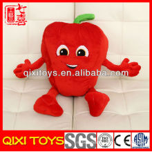 red and green high quality hot pepper pillow