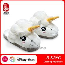 Cool Stuffed Unicorn animales Dearfoam zapatillas de juguete