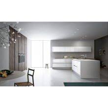 Kitchen Furniture MDF Kitchen Cabinet with Precut Granite Countertops
