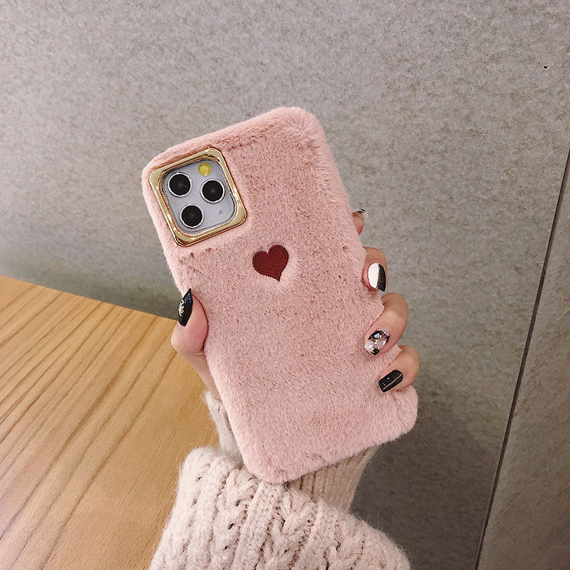 Pattern Embroidery Phone Case