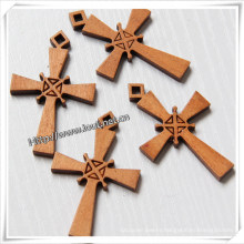 Handmade Standing Making Wooden Cross Wholesale (IO-cw008)
