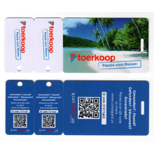 Irregular Shape Card-Die Cut Card-PVC Key Tag Card