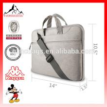10-16 Laptop Messenger Bag Ombro com cinta Simples Tablet Laptop Case