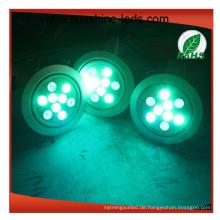Rot / Blau / Grün / Gelb / Weiß Farbe für LED-Einbauleuchte