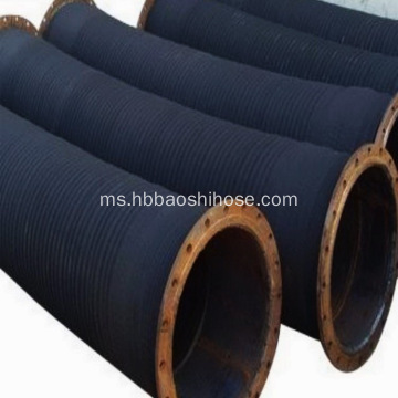 Hos Sludge Sedutan Flanged Steel Biasa