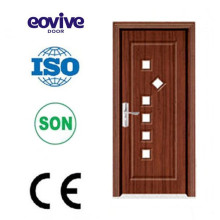 Made in China to inside pvc wood door with polymers material
