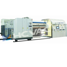 Roll to Roll Vacuum Metallizing Coating Machine for Pet, PVC, OPP Coil Packing Film