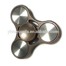 De alta calidad Shinning diseño Anti Stress Metal Fidget Hand Spinner