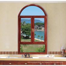Ventana abatible de doble acristalamiento con ventana abatible de aluminio (FT-W80)