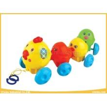 Plastikspielzeug Hühner mit schönen Sounds für Baby