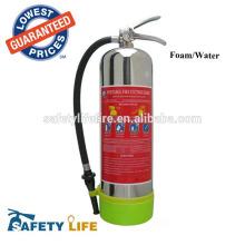 Extintor de aço pressurizado do aço inoxidável da água de 304 2Gallon