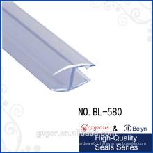 Bylen own factory transparent H shape double side rubber strip door seal
