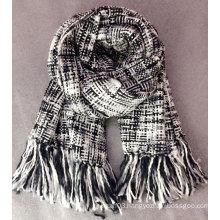 Fashion ladies houndstooth oversized scarf