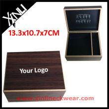 Melhor qualidade de madeira caixa de presente de gravata