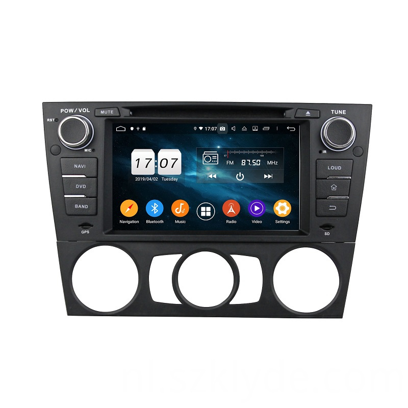 Fashion Trend Single Car Multimedia System E90