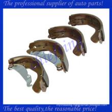 1605042 1605056 1605812 S4520003 S4520006 S4520005 NP1441 NP1464 96430417 90542863 for opel daewoo vauxhall brake shoe