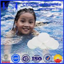 Swimmming Pool Treatment Table de dioxyde de chlore / Fongicides / Fabriqué en Chine