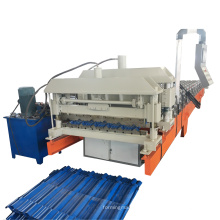 YUFA Metal step tile roofing panel roll forming machine hot sale