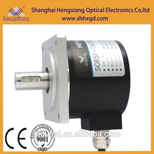 SC65F Flansch Motor Encoder Inkremental Solid Encoder 15mm mit Keilnut