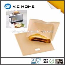 2016 Neue Kochen gegrillte Käse Toaster Taschen Hitzebeständige gegrillte Sandwich Toaster Taschen Preis