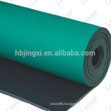 Composite antistatic rubber sheet / ESD rubber sheet