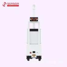Desinfektion Mist Spray Robot