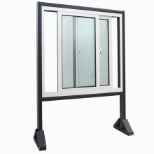 Janela de correr de alumínio de dupla janela com preço barato