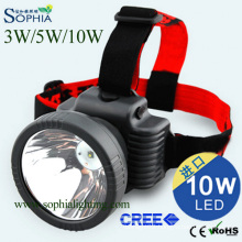Rechargeable Cap Light, Headlight, Headlamp, Bicycler′s Lamp, Fishing Light, Camping Light, Bicycleran′s Lamp