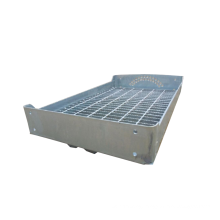 Factory Supply Galvanized Steel Grating Stair Tread for Walking