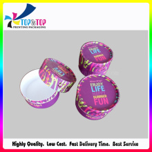 Hot Color Candy Paper Box/Sweets Box/Round Packaging Box