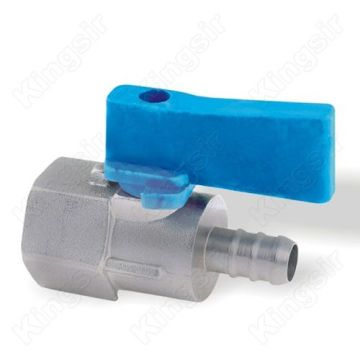 Berlapis krom kuningan Mini Ball Valves