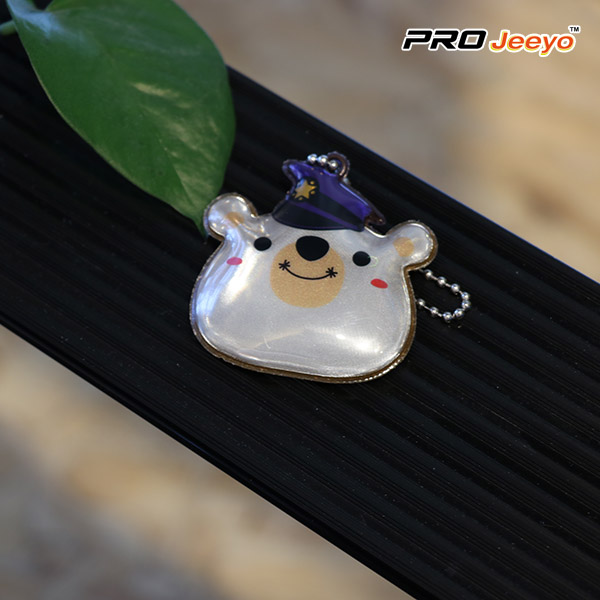 decorative wear cap panda bag pendant