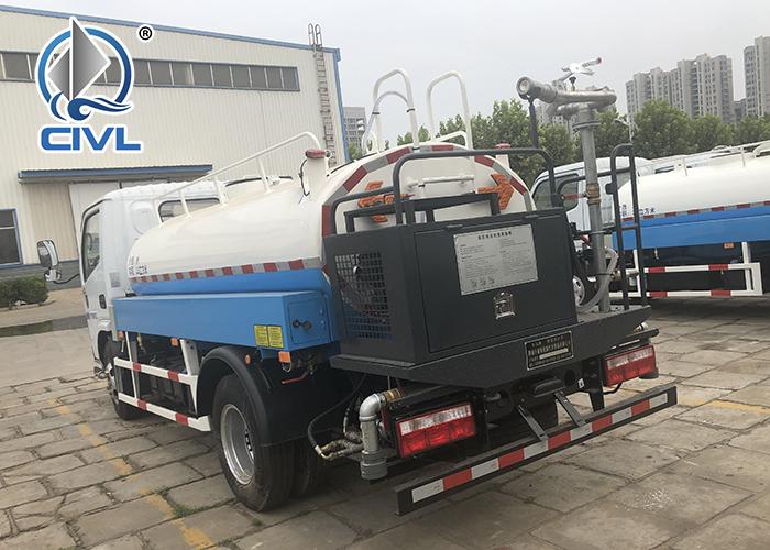 4x2 Water Tank Truck 1