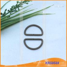 Boucles métalliques en métal de 21 mm, régulateur métallique, anneau en D en métal KR5058