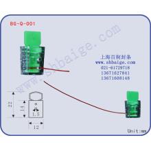 vedação do medidor elétrico BG-Q-001