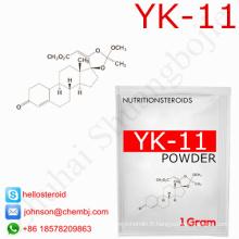 Yk11 usine directe vente 431579-34-9 poudre stéroïde d'hormone de Sarms Yk-11