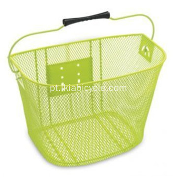 Steel Electric Bicycle Basket