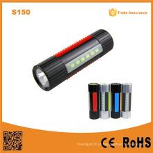 S150 multifunções 6PCS SMD LED luz recarregável farol lanterna LED