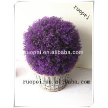 Искусственный фиолетовый лаванды трава мяч для украшения дома и сада