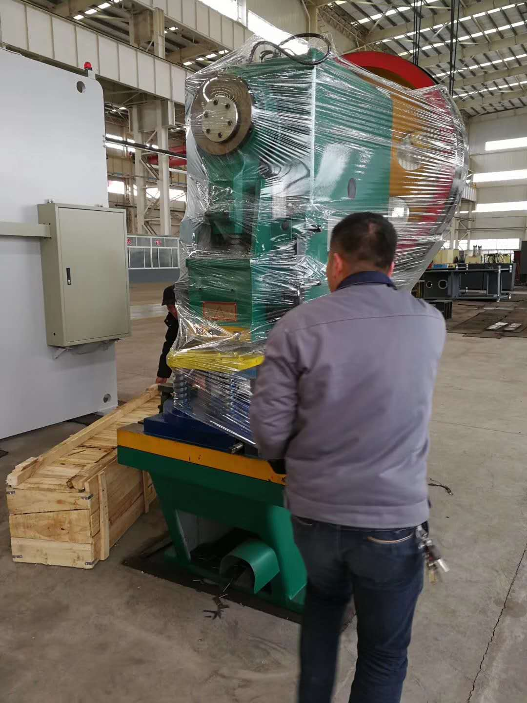 Notching Machine for Angle Tower