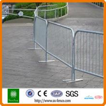 barrières de circulation en fer / barricade de contrôle de foule