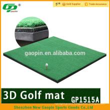 High quality ,3D driving range golf mat / golf practice set