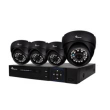 DIY 4-канальный комплект AHD CCTV с фиксированным фокусом