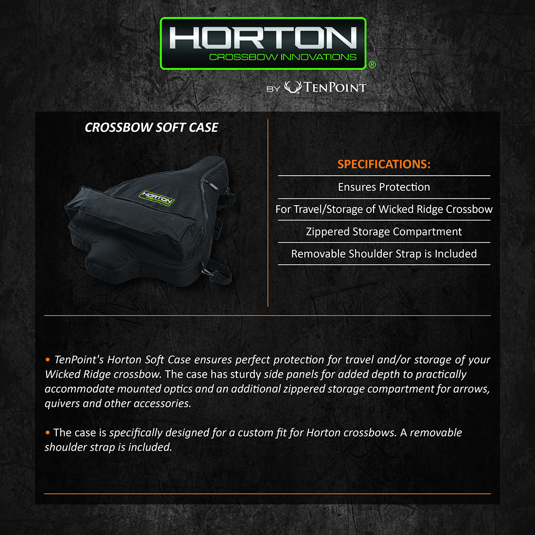 Horton_Crossbow_Soft_Case_Product_Description
