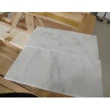 China White Marble Tile, Carrara White Marble