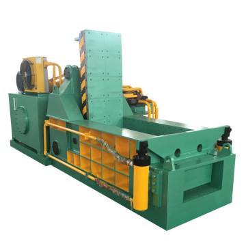 Machine hydraulique de presse à balles en aluminium de chutes de métal