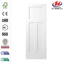 32 in. x 80 in. Winslow Primed 3-Panel Solid Core Composite Interior Door Slab