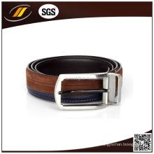 Cinturón de cuero de becerro de estilo completo de moda para hombres